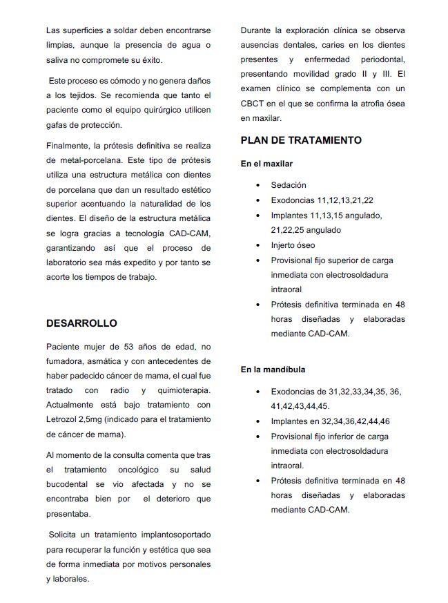 caso clinico pagina tres